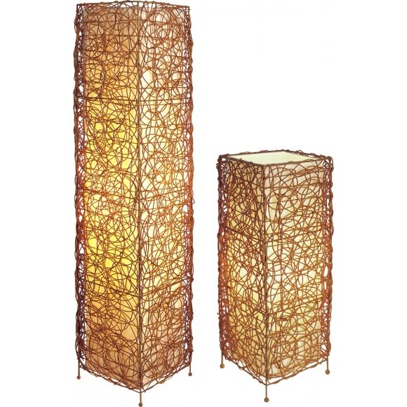 Sh Lighting All Natural Rattan Tower